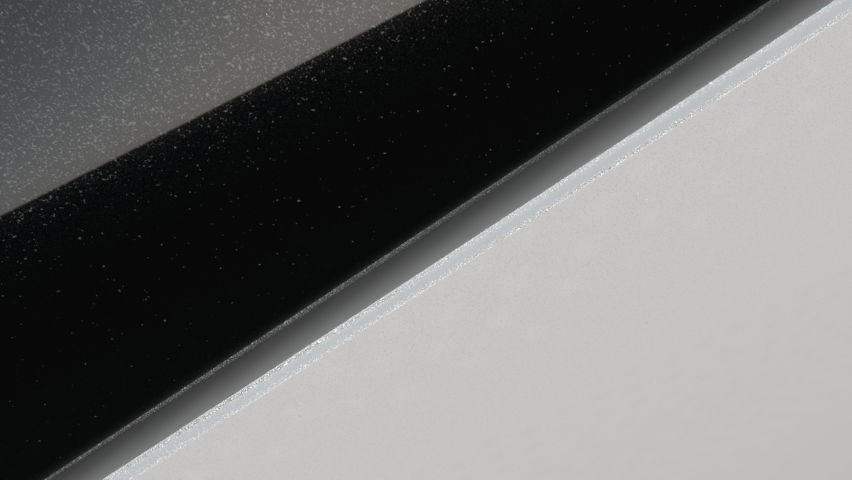 Blanc Nacré / Toit Noir
