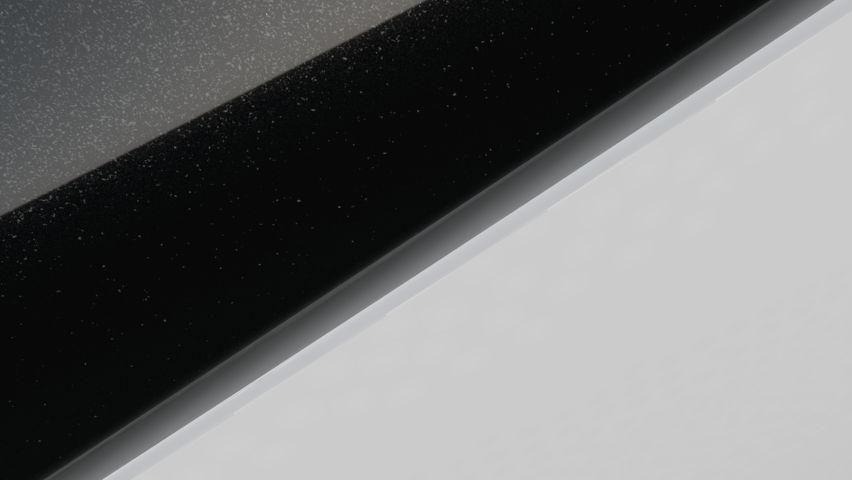 Blanc Glacier / Toit Noir