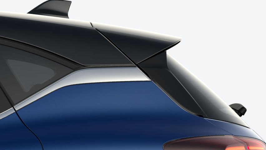Bleu Iron / toit Noir Etoilé