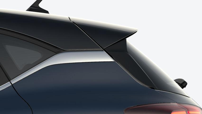 Bleu Marine Fumé / toit Noir Etoilé