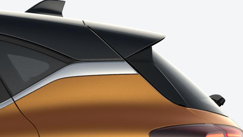 Orange Atakama / toit Noir Etoilé