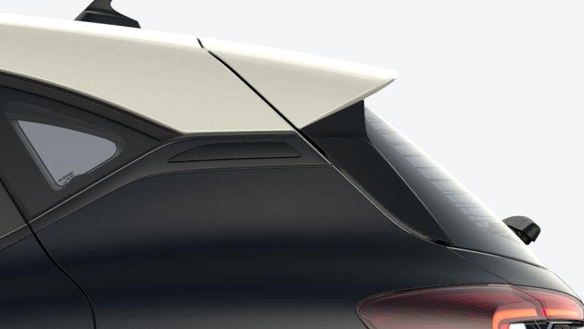 Noir Etoilé / toit Blanc Albatre